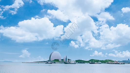 珠海大剧院(珠海大贝壳)高清图片