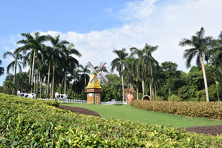 云台花园风景图片