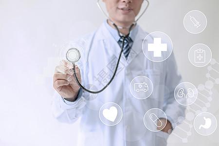看病的医生图片