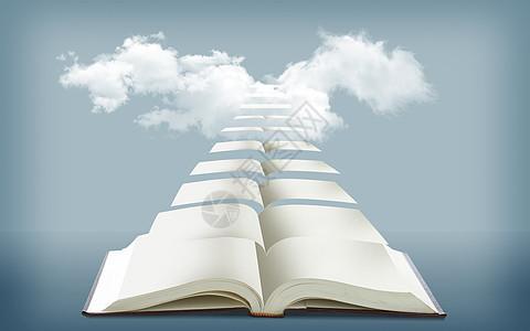 书籍是进步的阶梯图片