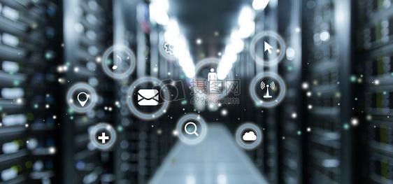 网络科技机房图片