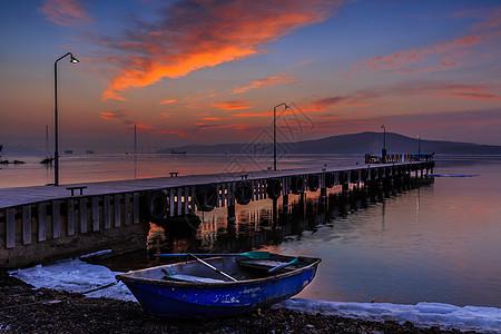 美丽的海边日出图片