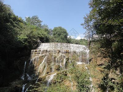 贵州醇酒厂风景区-龙潭瀑布高清图片