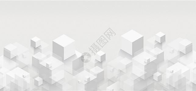 白色多矩阵背景图片