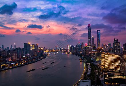 浦江夜景图片