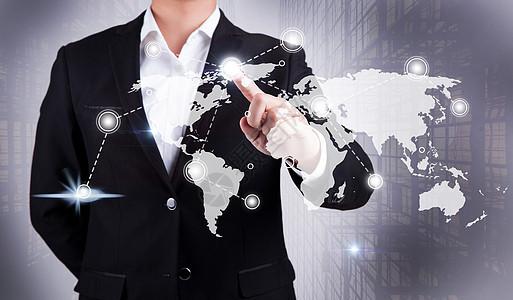 商务科技地图图片