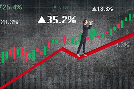 股市崩盘图片
