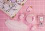 粉色系少女心化妆品系列图片