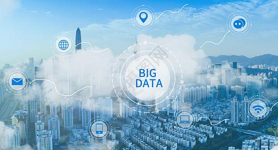 数据科技城市图片