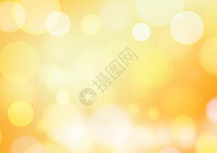 黄色光晕背景图片