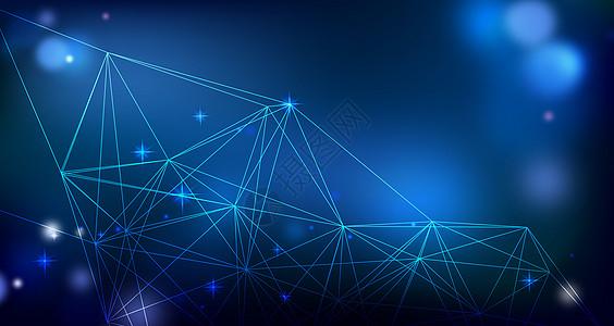 几何集成科技背景高清图片
