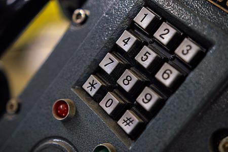工业防爆电话的数字键盘图片