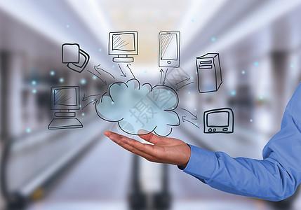 手托智能云服务在线科技图片