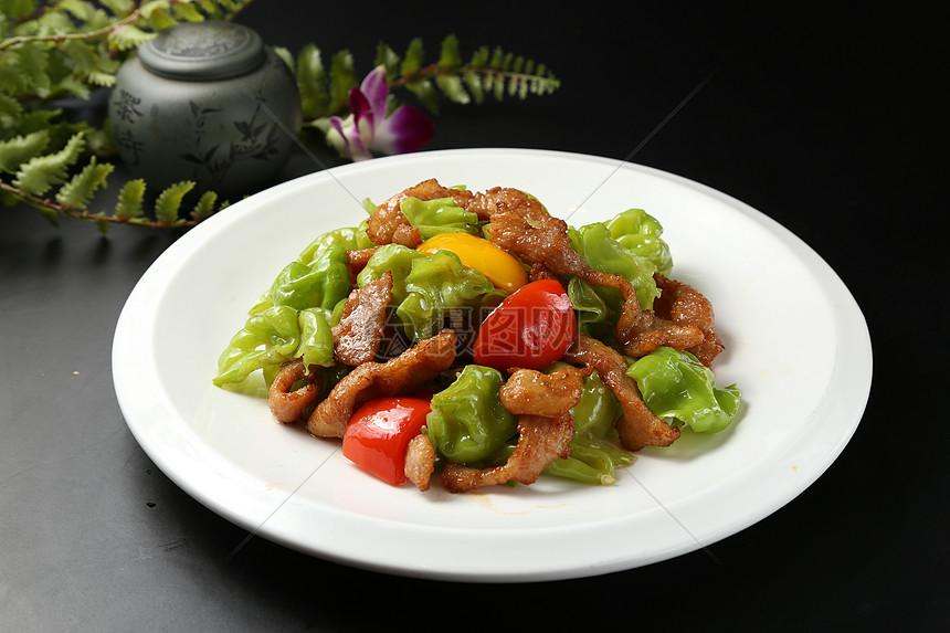 牛肉青椒图片