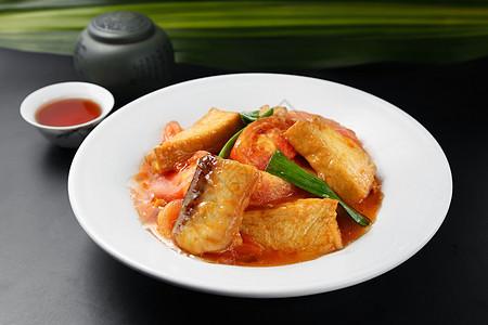 番茄鱼肉图片