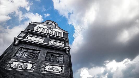 岭南古建筑佛山南海平洲玉器街图片