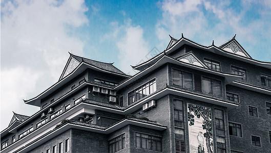 岭南古建筑(佛山南海平洲玉器街)图片