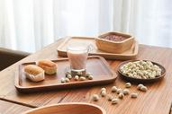日式早餐牛奶面包八宝粥500590762图片