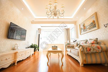 欧洲风的家居客厅图片