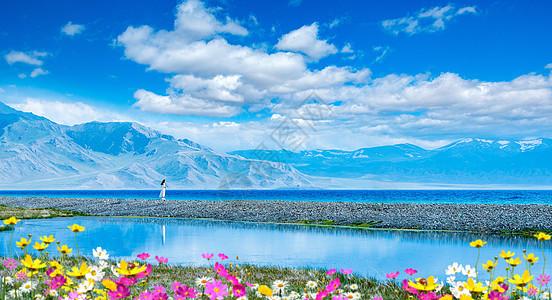 赛里木湖好风光图片