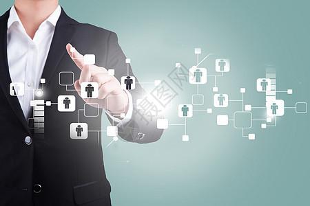 连接智能用户科技图片