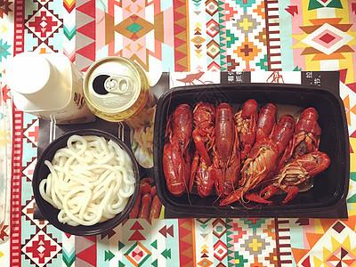 夏季晚餐图片