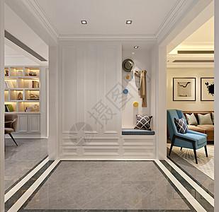 玄关衣橱室内设计效果图图片