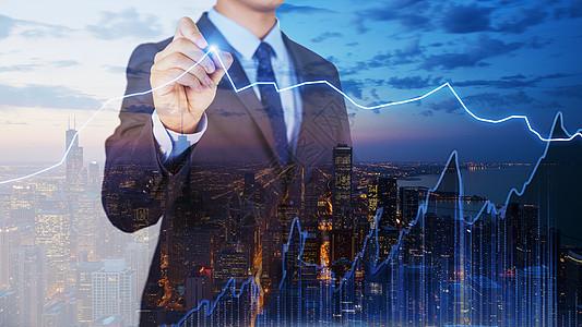 商务金融科技图片