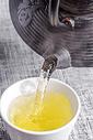 中式绿茶图片