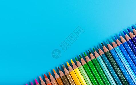 彩色铅笔创意组合图片