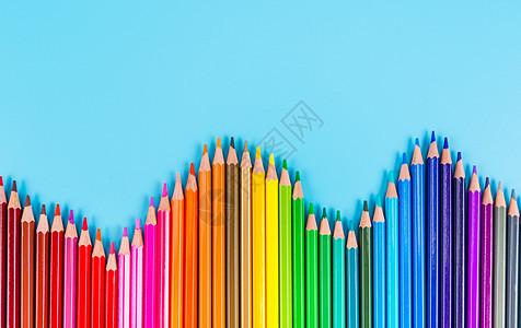 彩色铅笔造型图片