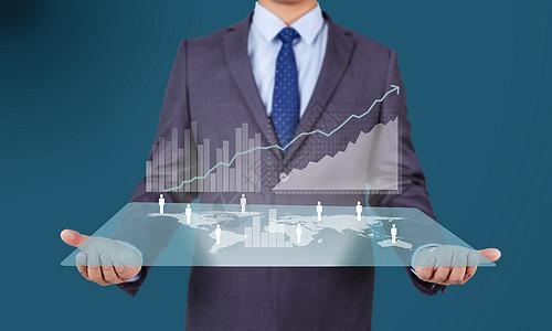 商务数据统计分析图片