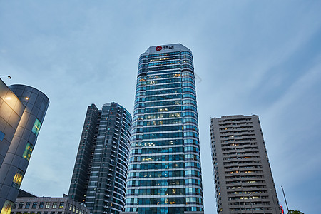 城市建筑商务中心图片