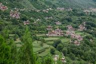 四川丹巴甲居藏寨碉楼图片图片