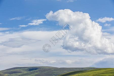 西藏蓝天白云图片图片