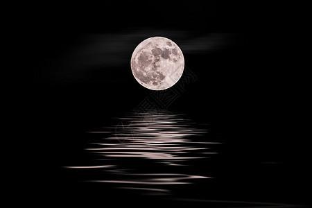 青海湖月夜图片