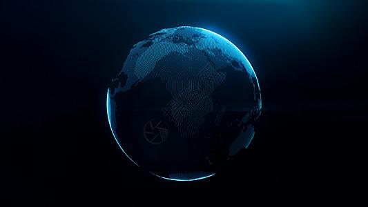 数据化地球图片