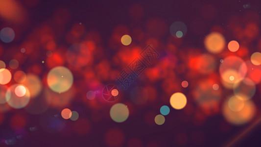 粒子光斑背景图片