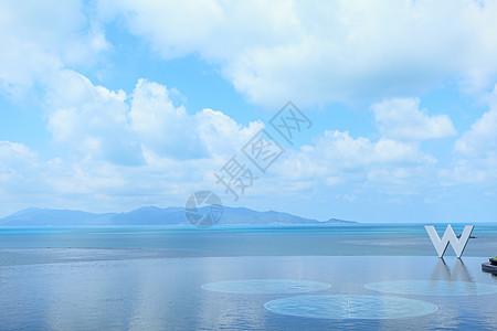 苏梅岛清新海边图片