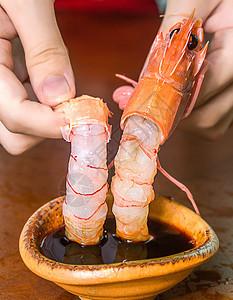 新鲜大鳌虾图片