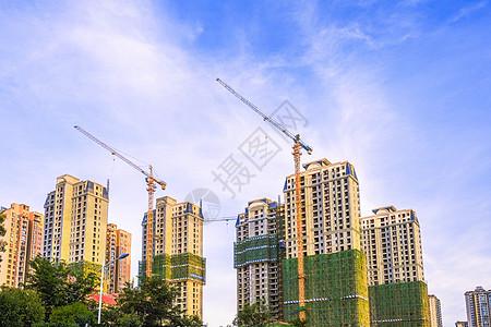 城市高楼建设图片