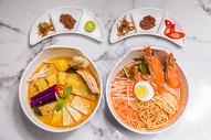 东南亚风味海鲜面线图片