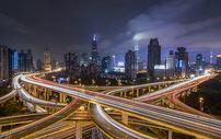 上海南北高架桥图片