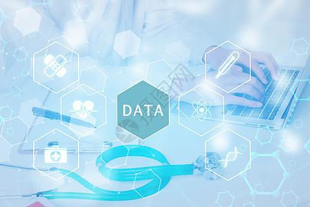 网络在线医疗数据图片