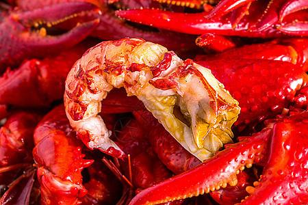麻辣小龙虾肉图片