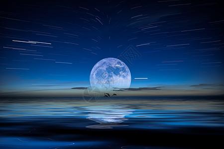 中秋节青海湖月色图片
