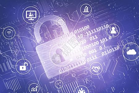 科技安全图片