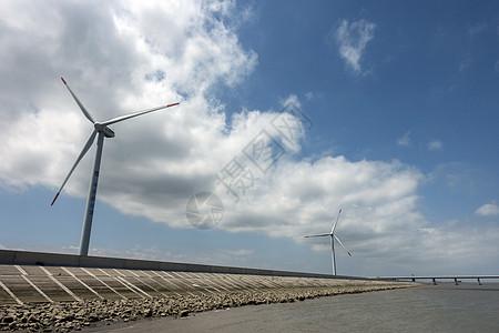 环保风力发电图片