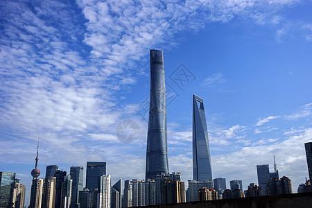 美丽上海上海中心环球中心图片