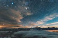 牛背山星空图片